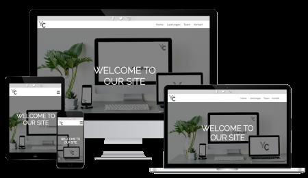 Website-Responsive-Design-Beispiel